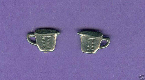 lead free pewter measuring cup charm 1197
