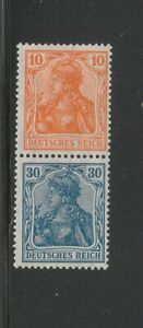 71654-GERMANY-MiNr-S15-se-tenant-MINT-HEAVY-HINGED