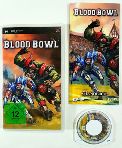 1 von 1 - Sony PSP Spiel BLOOD BOWL Games Workshop dt. OVP