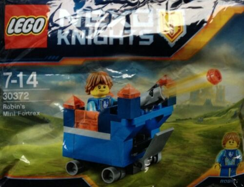 Robin/'s Mini Fortrex Set 30372 NEW /& Sealed Limited Edition LEGO Nexo Knights