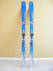 188cm Blizzard Titan Nine Telemark Powder Skis W Black