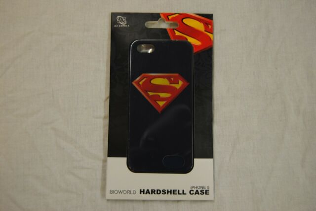 SUPERMAN CLASSIC LOGO HARDSHELL IPHONE 5 CASE NEW OFFICIAL DC COMICS MOBILE