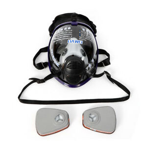 For-3M-6800-Facepiece-Respirator-Full-Face-Painting-Spraying-Work-Gas-Mask-USA