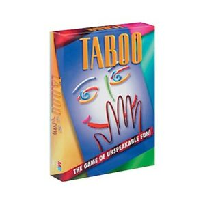 Details about BNIB - TABOO Board Game -The Game of Unspeakable Fun! 4  Players Age 12+