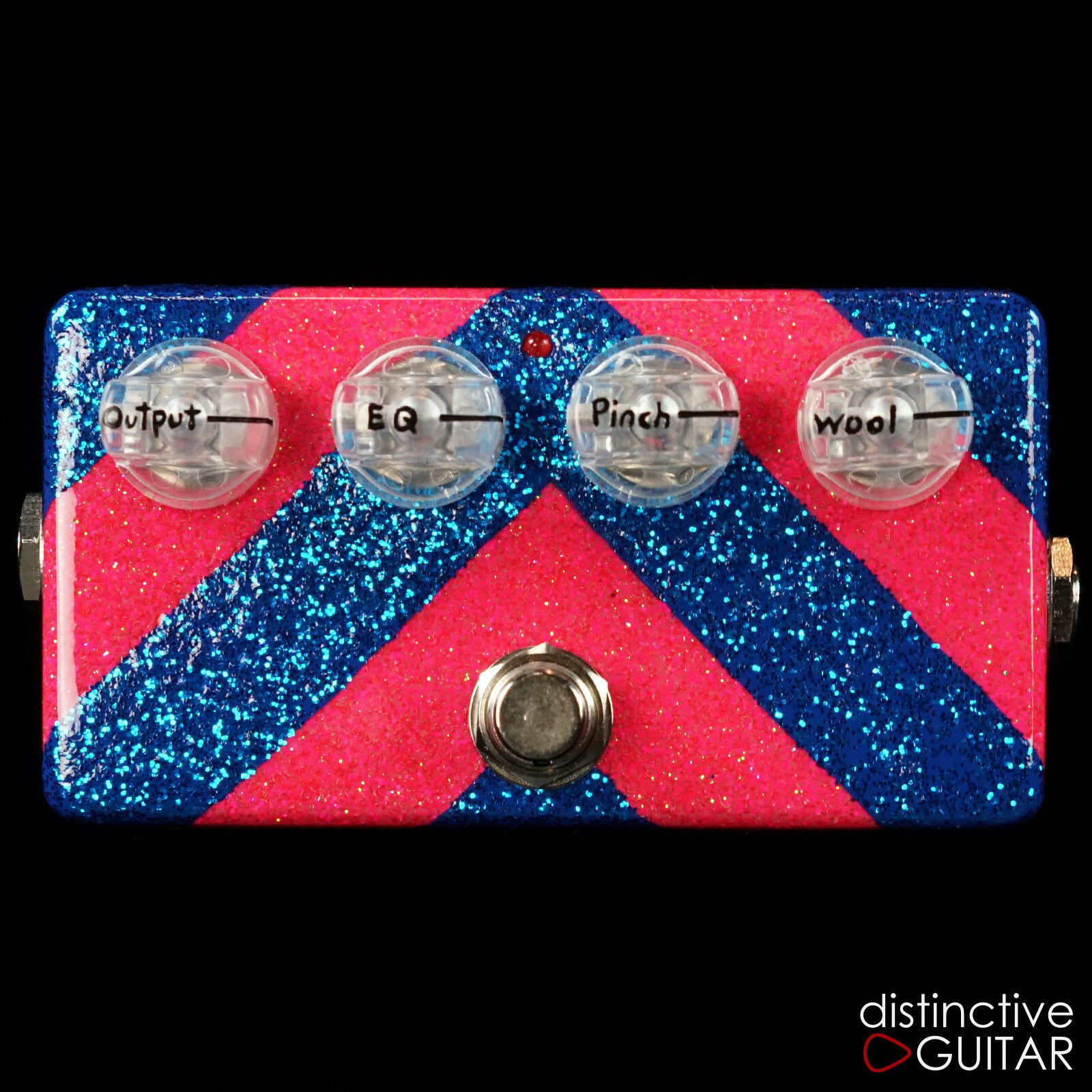 NEW ZVEX EFFECTS CUSTOM HAND PAINTED WOOLLY MAMMOTH GUITAR / BASS FUZZ  ONE OFF