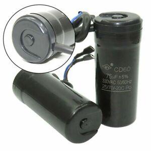CD60-Start-Motor-Kondensator-330-VAC-50-60-Hz-Mfd-47uF-64uF-75uF-80uF-88-108uF