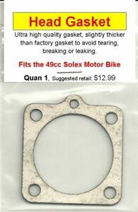 49cc Solex Motor Bike//Motorbike Engine Replacement Head Gasket NIP
