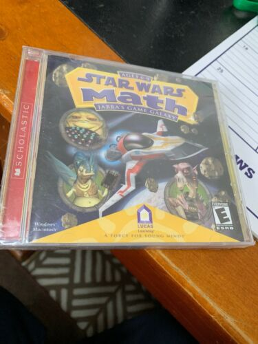 Star Wars Math Jabba's Game Galaxy CD PC Game 95982000 New Sealed