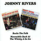 Rocks The Folk / Meanwhile Back At The Whisky A Go-Go by Johnny Rivers (Pop) (CD, Mar-1996, Beat Goes On)