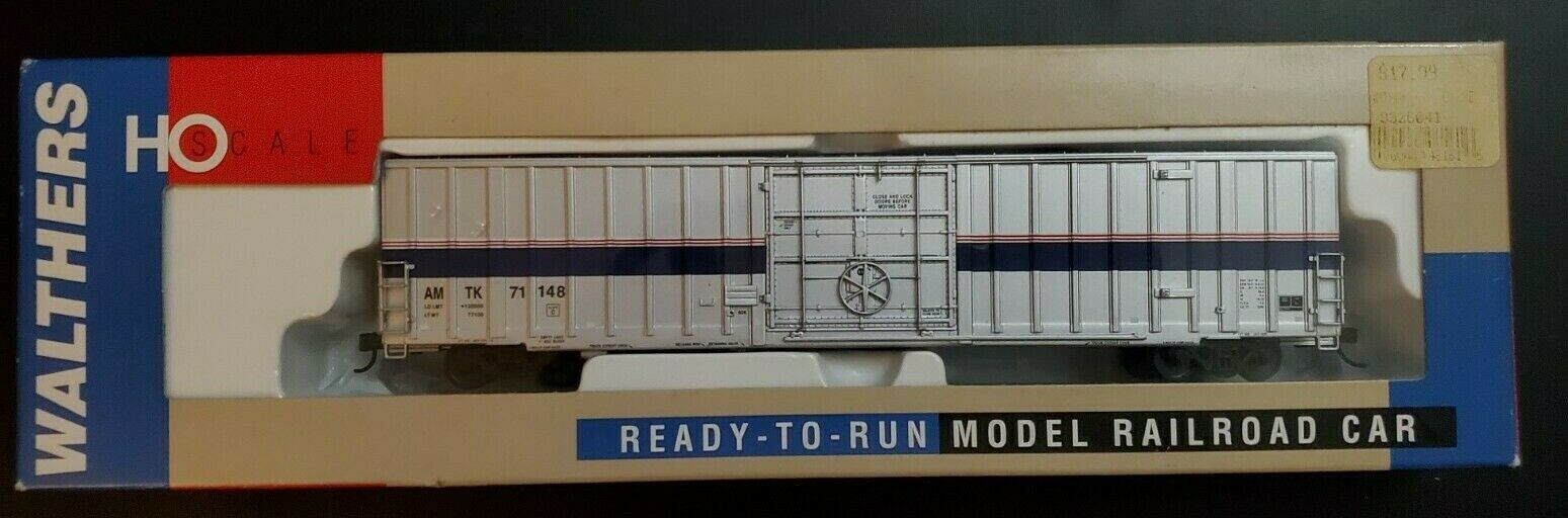 WALTHERS 932-6041 HO Scale 60' Express Box Car Amtrak Phase 4  71148