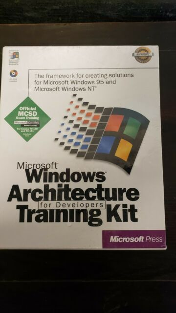 Microsoft Windows Architecture Training brand new factory sealed