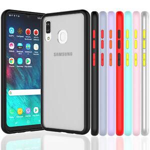 Pour-Samsung-Galaxy-A10E-A20-A30-A21-Case-Antichoc-Slim-Peau-Ajustee-couverture-souple