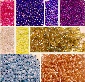 Czech Traditional Soup Glass Seed Beads-38 Grams Bag CHOOSE COLOR!!!
