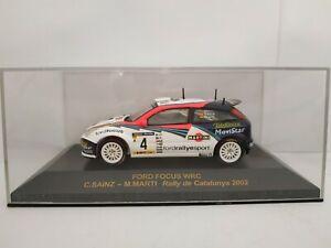 1-43-FORD-FOCUS-WRC-2002-CARLOS-SAINZ-RALLY-CATALUNYA-COCHE-A-ESCALA-DIECAST