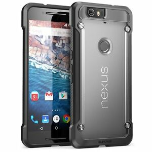 online store f899e 28bf1 Details about Google Nexus 6P Case SUPCASE Cover Unicorn Beetle Hybrid  Protective Clear Black