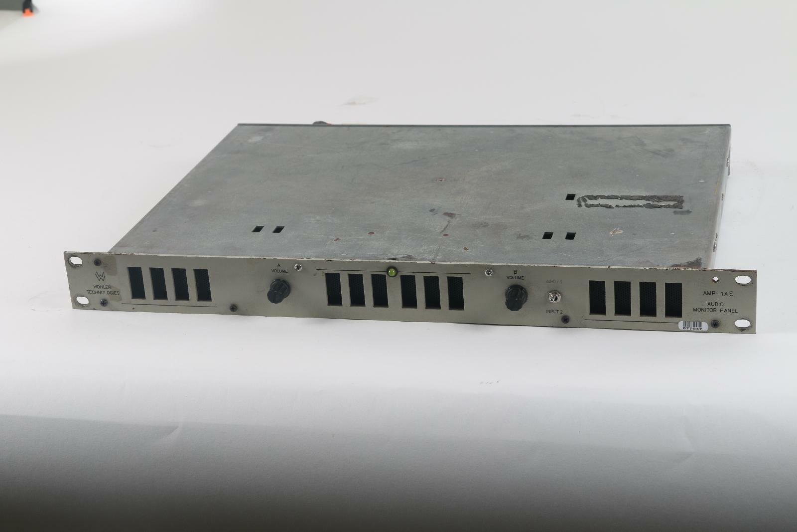 Wohler Technologies AMP-1AS Audio Monitor Panel