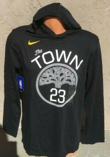 Nike Men/'s XL NBA Golden State Warriors Hoodie Shirt Statement Edition Green #23