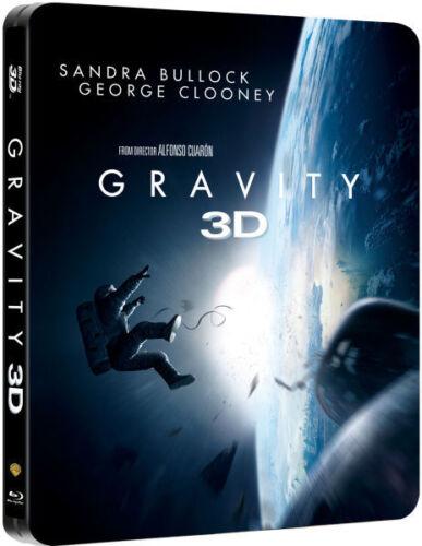 Gravity Sandra Bullock Zavvi Steelbook (3 D + Blu Ray) [Region Free]   New by Ebay Seller