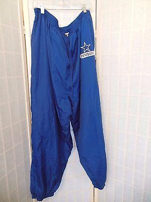 Men's Dallas Cowboys Athletic Pants Size 4XL Nylon Football Pants with Pockets