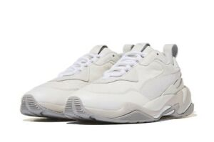 Details about [PUMA] Thunder Desert White 36799703, Sports Shoes Unisex  Athletic Sneakers