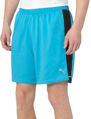 Puma DryCell Mens Running Shorts Blue 7 inch Gym Sports Training Workout Shorts | eBay