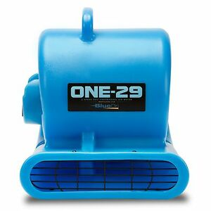 BlueDri-ONE-29-Air-Mover-Carpet-Dryer-Floor-Blower-Fan-High-CFM-Low-Amps-Blue