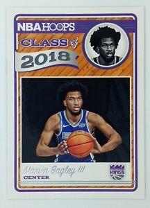2018-19 Panini NBA Hoops Class of 2018 Marvin Bagley III Rookie RC #2, Kings