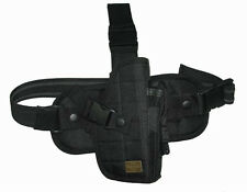 NEW Black Right Hand Pistol Tactical Drop Leg Thigh Holster Gun