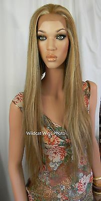 """BLACK .. HEAT OK .. LACE FRONT 32"""" Hawaii Wig from Sepia ..   BLACK WIG *"""
