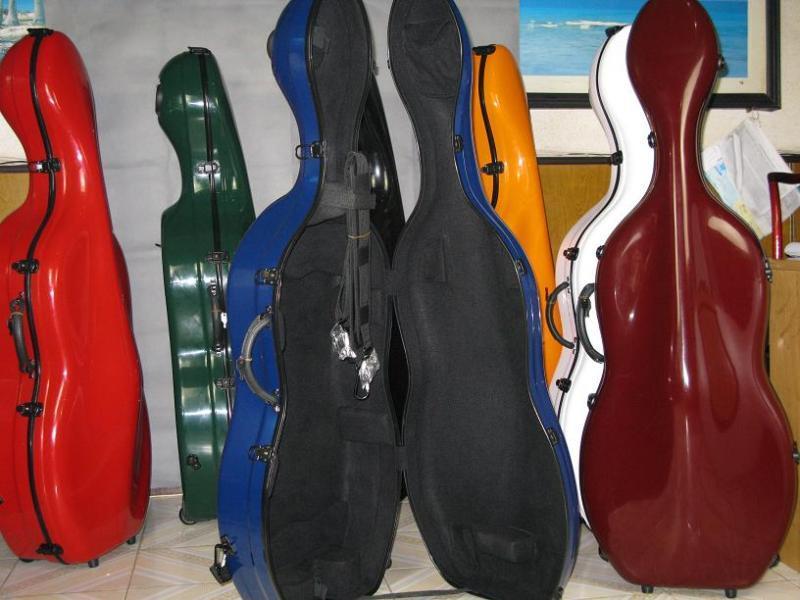 Bonito Bonito Bonito Estuche violonchelo de fibra de vidrio talla 4 4 5c1f23