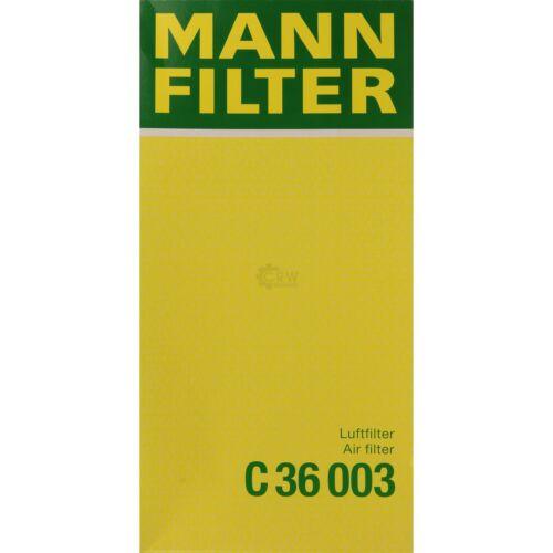 ORIGINALE MANN-FILTER FILTRO ARIA C 36 003 AIR FILTER
