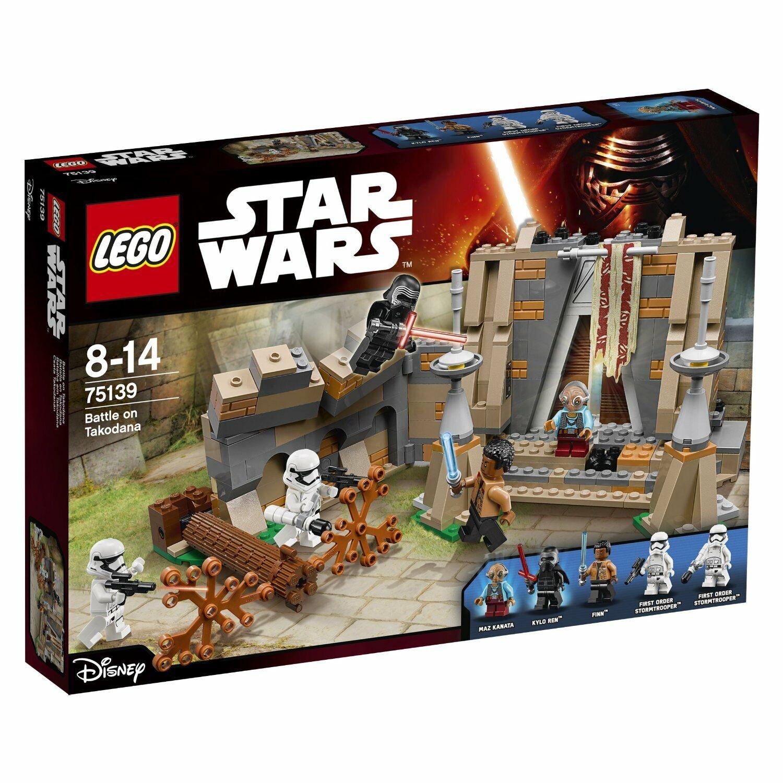Lego Star Wars Episodio VII  batalla en takodana (75139) Nuevo en Caja Juego De 2016
