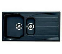 Astracast Sierra Black 1.5 Bowl Sink Plastic Chip/scratch Resistant