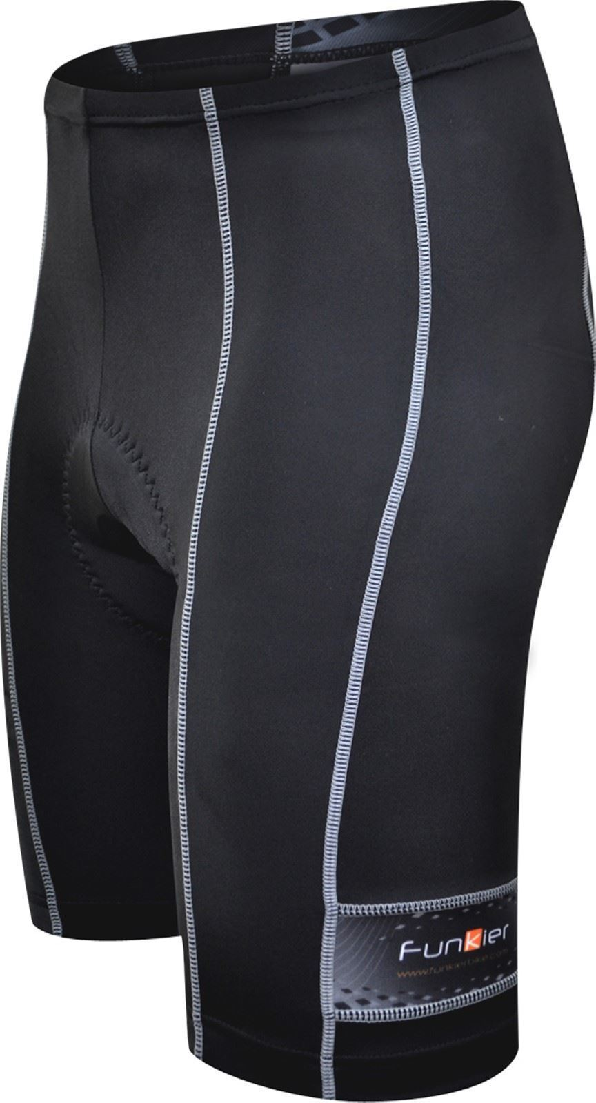 Funkier Force S-203-C1 - 10 Panel Aktiv Shorts in Schwarz XL