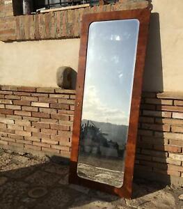 Armadio A Muro Con Specchio.Antica Anta Pannello Porta Di Armadio A Muro Con Specchio
