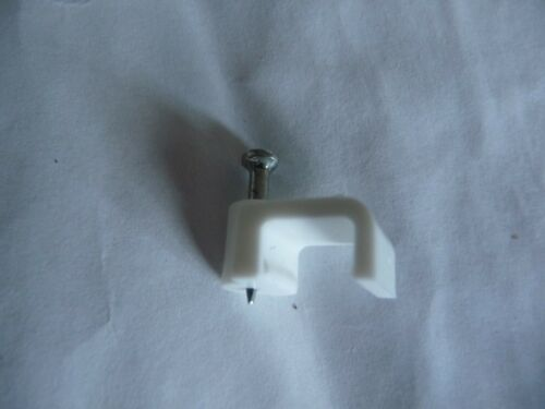 Electrical GREAT MILLS 20 cable clips 1.5mm twin /& earth