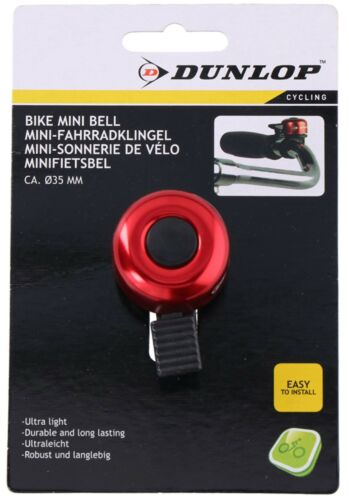 Dunlop Mini vélo Sonnette vélo Cloche vélo Sonnette Cloche Roller MTB