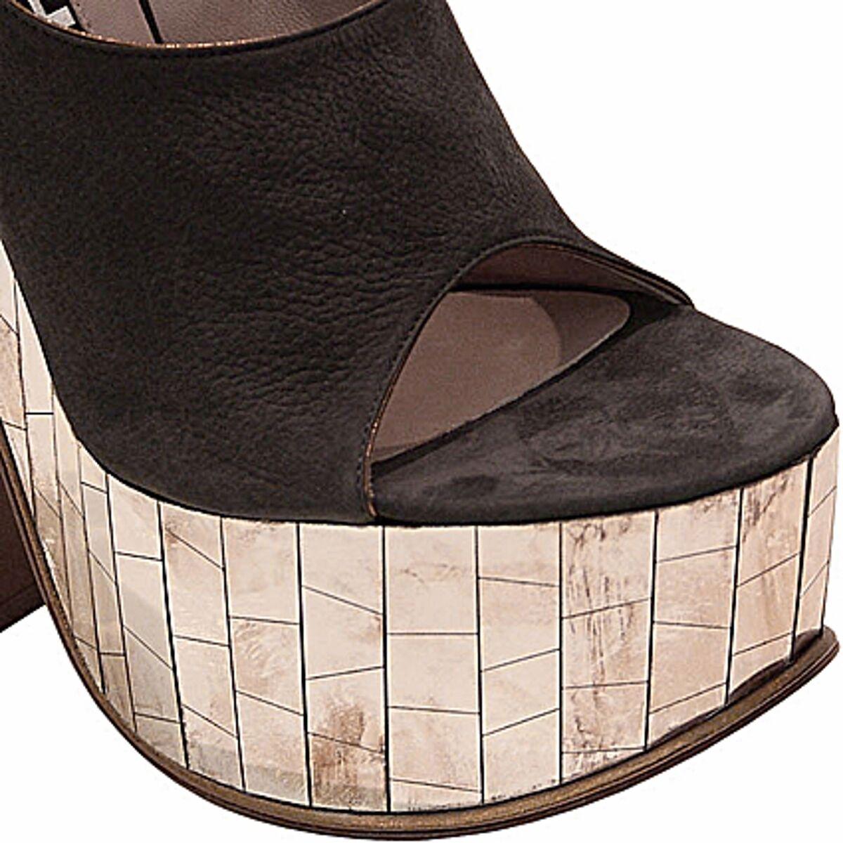 Rochas Rochas Rochas Wedge sandal Claudine, Claudine platform SIZE 40 b254de