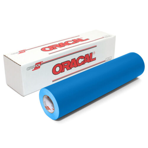 "Oracal 631 Adhesive Backed Vinyl 12/"" x 10 ft roll"