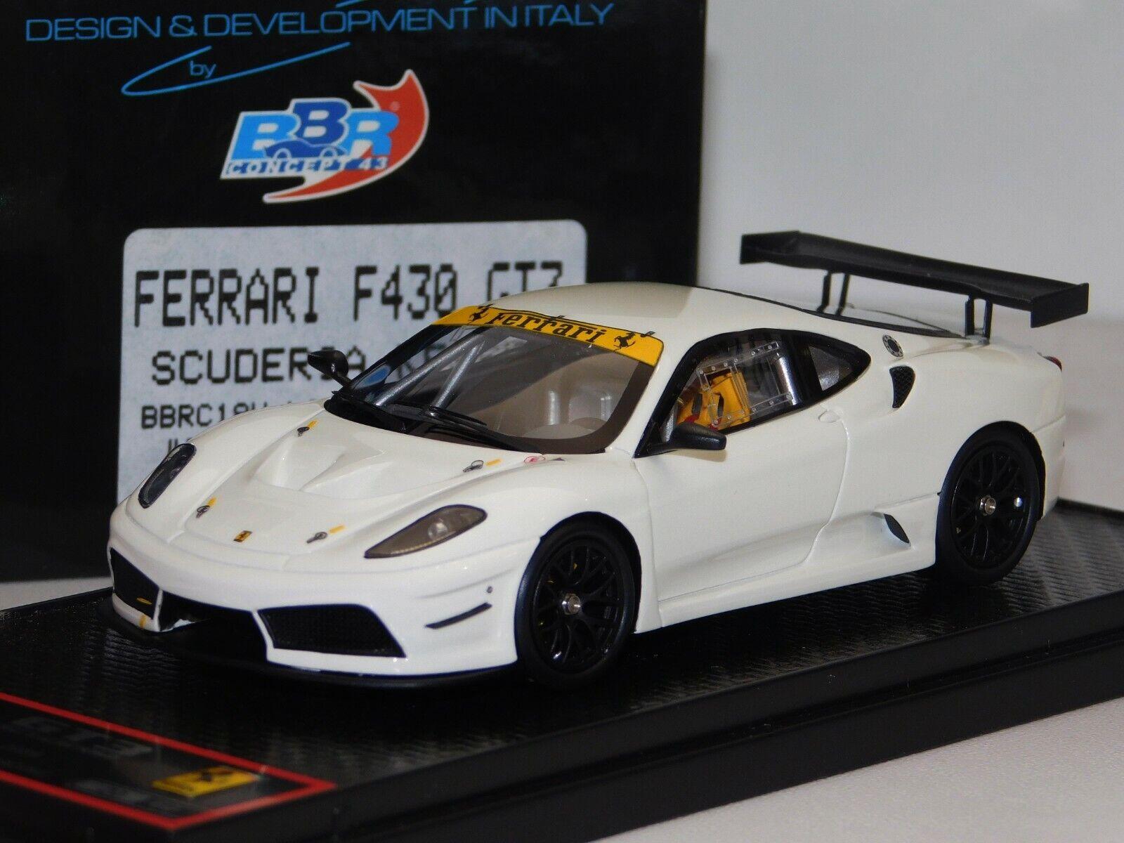 Ferrari F430 GT3 Scuderia de Kessel BBR Lim. 60 piezas Bbrc 18W 1 43