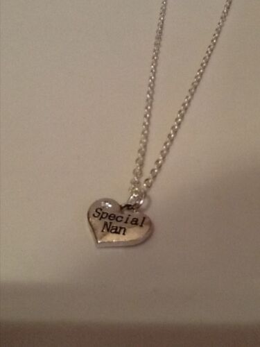 Special nan necklace silver in colour 18 inch chain
