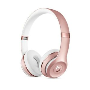Brand-New-BEATS-BY-DRE-Solo-3-BLUETOOTH-WIRELESS-HEADPHONES-Rose-GOLD
