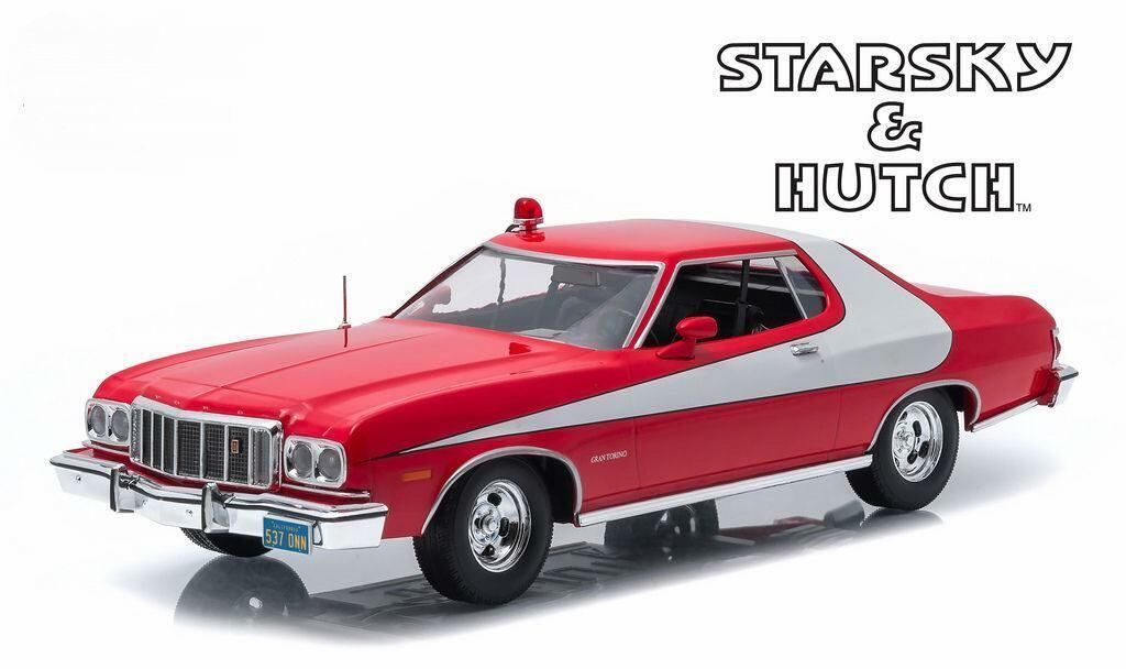 Coche Coche Coche Ford Gran Torino 1976 Película Starsky y Hutch Metal Al 1 18 66727e