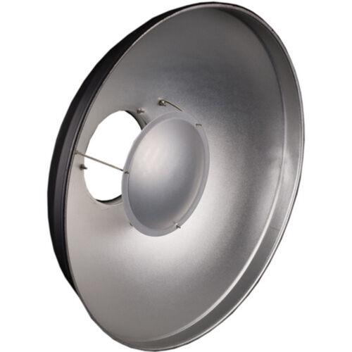 Beauty Dish 40cm gorro de ducha Difusor-Montaje Universal Mount-Plata