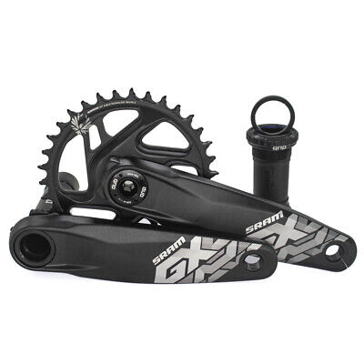 SRAM SX Eagle Crankset Cranks 170//175mm 34t Chainring DUB Bottom Bracket Mtb