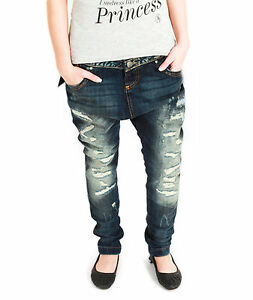 VSCT-destroyed-senora-boyfriend-Jeans-Hose-antifit-tapered-used-Denim-baggy-Trend