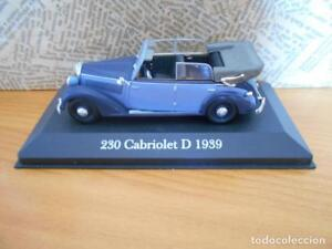 MERCEDES-BENZ-230-CABRIOLET-D-1939-ALTAYA-ESCALA-1-43-LEER-DESCRIPCION-DC