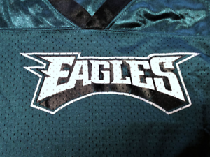 92d8871c9 Image is loading Reebok-Philadelphia-Eagles-Mesh-Jersey-Shirt-Youth-Size-