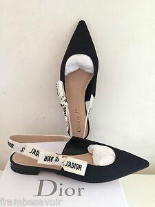 f04adaf56c7 Dior J adior jadior SS17 Ribbon Fabric Sandal Ballerinas Slings ...