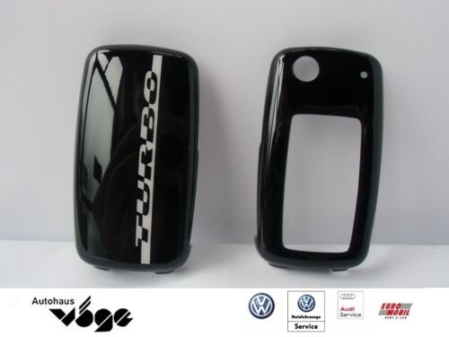 Originales de VW clave cover turbo//Design turbo//Key cover//negro 5c0087012g